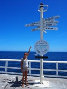 Le bout de la jetée, à 14300 km de Paris...
