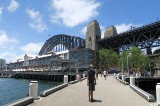 Sous le Sydney Harbour Bridge