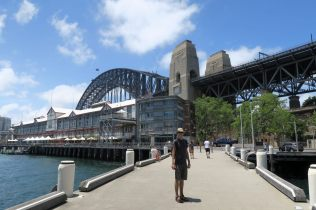 Sous le Sydney Harbour Bridge