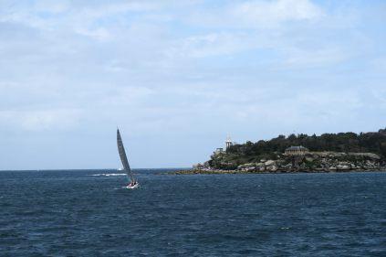 Navigation dans le port de Sydney