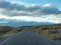 Sur la route entre le lac Tekapo et Pukaki
