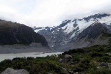 Vue sur les montagnes enneigées