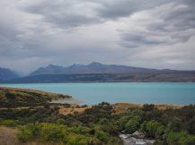 Retour sur le lac Pukaki, et ses eaux bleues