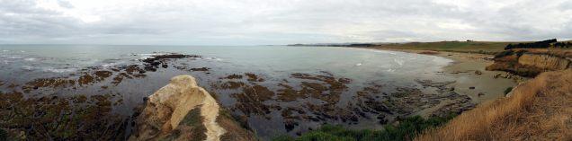 La côte du Sud (panorama)