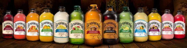 Les boissons Bundaberg