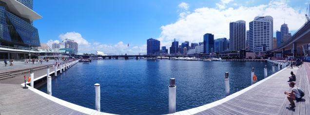 Panorama de Darling Harbour