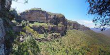 Panorama des chutes de Katoomba (à gauche de l'image)
