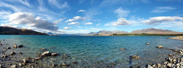 Panorama du lac Tekapo