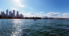 Panorama de Sydney depuis les jardins botaniques