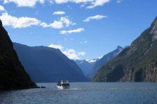 Les sommets autour du fjord de Milford Sound