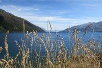 A un bout du lac Wakatipu