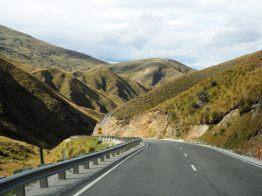 Sur la route vers Wanaka