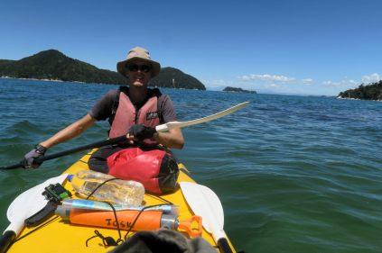 Découverte en Kayak du parc d'Abel Tasman