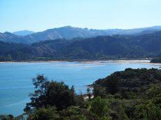 Paysage lors de la randonnée au Parc national d'Abel Tasman
