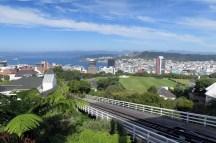 Vue sur Wellington en haut du Cable Car