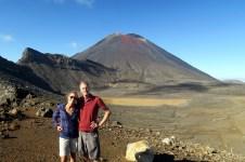 Le Mont Ngauruhoe... ou les fans de Lord of The Rings, le Mount Doom ! Vue depuis le haut