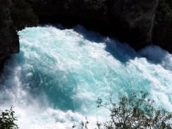 La chute des Huka falls