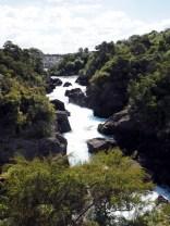 La station hydroélectrique de Aratatia rapids se remplissant d'eau progressivement (en amont)