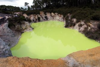 """Devil's pool"", parc thermal de Wai-o-tapu"