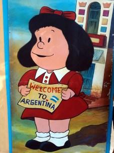 Fresque de Mafalda, Buenos Aires
