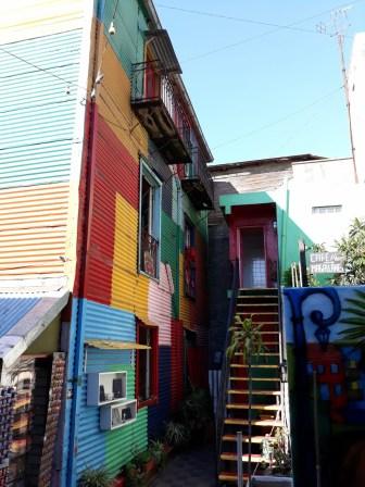 Dans le quartier de la Boca, Buenos Aires