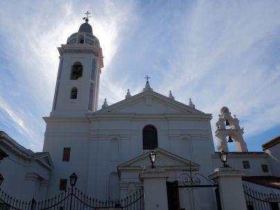 Basilica de Nuestra Señora del Pilar (en français basilique Notre-Dame-du-Pilier), dans le quartier de Recoleta, Buenos Aires