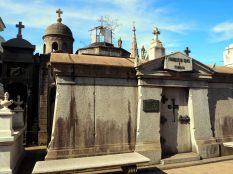 A l'intérieur du cimetière de Recoleta, Buenos Aires
