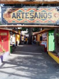 Le coin des artisans à El Calafate