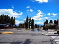Dans les rues d'El Calafate