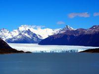Première vue du glacier Perito Moreno