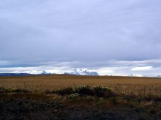 La Patagonie, de grandes étendues à perte de vue, et des montagnes !