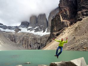 Petites photos bien méritées. Base des Torres, Parc National Torres Del Paine