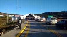 Passage à la frontière côté Chili