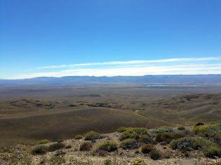 La Patagonie, entre Puerto Natalès et El Calafate