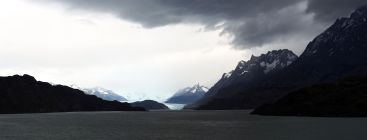 Panorama Parc National Torres Del Paine, Lac Grey