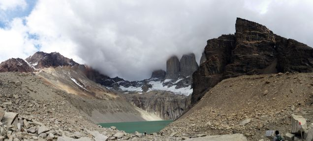 Panorama Parc National Torres Del Paine, Base des Torres