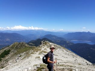 Au sommet du Cerro San Sebastian