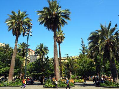 Plaza de Armas à Santiago