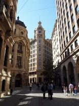 """Le """"Wallstreet"""" de Santiago"""