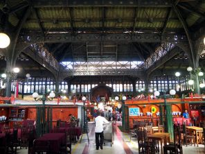 Mercado Central, Santiago