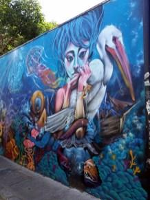 Fresque à Valparaiso