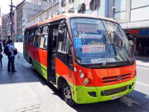 "Les ""collectivo"" de Valparaiso (la version moderne)"