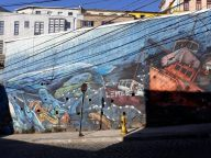 Tempête picturale, Valparaiso