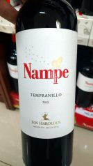 Très bon vin gouté à Iguazu
