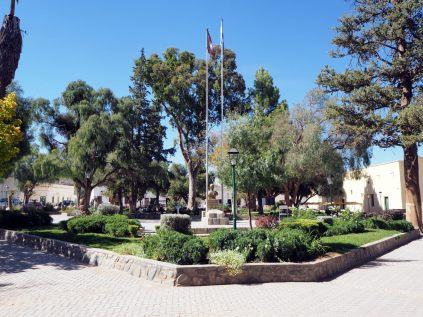 Place centrale de Cachi !