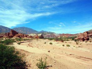 Los Colorados, Quebrada de Las Conchas