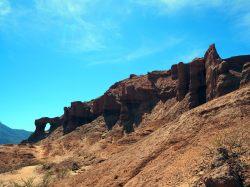 Las Ventanas, Quebrada de Las Conchas