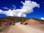 L'entrée de El Hornocal, la montagne aux 14 couleurs