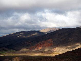 Sur la route vers le Salinas Grande... on quitte les nuages !