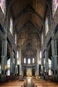 L'intérieur de la cathédrale de Bariloche